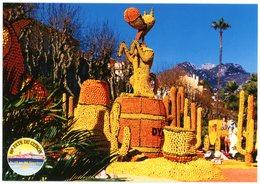 Menton. La Côte D'Azur. French Riviera. 66ème Fête Du Citron Du 13 Au 28 Février 1999. Rantanplan Le Fugitif. Dynamite. - Menton