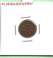 TURKMENISTAN  1  TENGE  1993 - Turkménistan