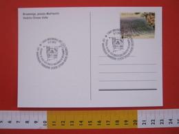 A.06 ITALIA ANNULLO - 2012 BRUSNENGO BIELLA BANDIERA FLAG 120 ANNI FONDAZIONE SOCIETA OPERAIA MUTUO SOCCORSO COOP CHIESA - Francobolli