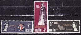 -Malta  1967-Serie Completa Usata - Malta (...-1964)