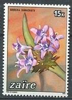 Borreria Dibranchiata (Fleur) - Zaïre - 1984 - Zaïre