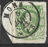 _8S-557: N° 30: Dc: MONS - 1869-1883 Leopold II