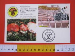 A.06 ITALIA ANNULLO - 2011 BARLASSINA MONZA BRIANZA45 ANNI ASSOCIAZIONE MICOLOGICA BRESADOLA MARIO GALLI - Funghi