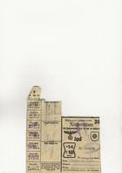 TICKET DE RATIONNEMENT - OCCUPATION ALLEMANDE MULHOUSE  23-8-1942 - 1939-45