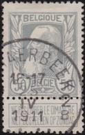Belgie  .   OBP       .     78         .        O   .       Gebruikt    .   /  .      Oblitéré - 1905 Grosse Barbe