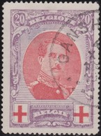 Belgie  .   OBP       .     134          .        O   .       Gebruikt    .   /  .      Oblitéré - 1914-1915 Croix-Rouge