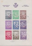 Belgie  .   OBP       .    Blok  10-A      .        O   .       Gebruikt    .   /  .      Oblitéré - Blocs 1924-1960