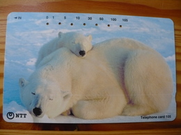 Phonecard Japan 231-401 Polar Bear - Japon
