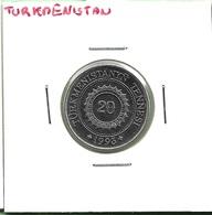 TURKMENISTAN  20  TENNESI  1993 - Turkménistan