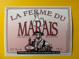 9794 - La Ferme Du Marais - Etiquettes