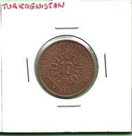 TURKMENISTAN  10  TENNESI  1993 - Turkménistan
