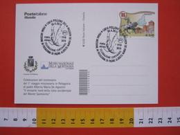 A.06 ITALIA ANNULLO - 2010 POLLONE BIELLA PRIMA MISSIONE IN PATAGONIA ARGENTINA PADRE MARIA DE AGOSTINI PUNTA ARENAS - Geografia