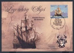 Marshall Islands 2005 Max. Card / Karte / Carte + Mi 1981 - Nuestra Senora Des Rosario - Brig / Kriegsschiff - Boten