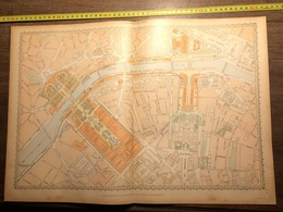 PARIS 1900 PLAN GENERAL DE L EXPOSITION - Documentos Antiguos