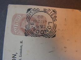 GB  Cv, London  1900 - Briefe U. Dokumente