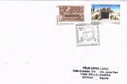 31321. Carta VIC (Barcelona) 2001. Exposicion VICFIL 2001. Arqueologfo Historiador Eduard Junyent - 1931-Aujourd'hui: II. République - ....Juan Carlos I