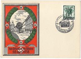 Propaganda  Carte Anniversaire  -20 Avril 1938 - Guerre 1939-45