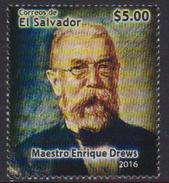 EL SALVADOR, 2016, MNH, ENRIQUE DREWS, MUSIC,1v - Music