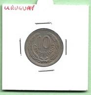 URUGUAY  10  CENTIMOS  1953 - Uruguay