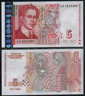 BULGARIA - 5 Leva 1999 UNC  P.166 A - Bulgaria