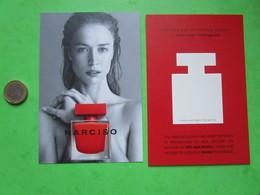 NARCISO RODRIGUEZ -  Carte Parfumée - Modernes (à Partir De 1961)