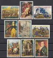 Guinea Equatoriale 1976 Sc. 7562/7570 Bicentenario Estados Unidos Full Set CTO Ecuatorial American Bicentenary - Guinea Equatoriale