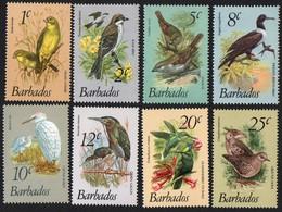 Barbados. 1979 Birds. Low Values.  MNH - Barbados (1966-...)