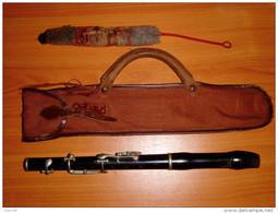 Vecchio Flauto Di Inizio '900 Old Flute - Instrumentos De Música