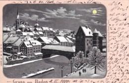 Suisse -  Aargau - Gruss Aus BADEN - AG Argovie