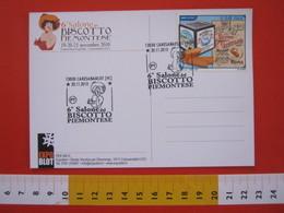 A.06 ITALIA ANNULLO - 2010 CARESANABLOT VERCELLI 6° SALONE DEL BISCOTTO PIEMONTESE GENTILINI ROMA - Alimentazione