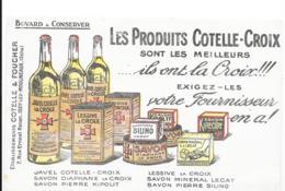 Buvard Les Produits Cotelle-Croix - Produits Ménagers