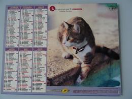Almanach Du Facteur 2012 Recto  Chat Verso  Chat - Calendriers