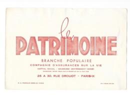 Buvard Pubilictaire - Le Patrimoine - Buvards, Protège-cahiers Illustrés