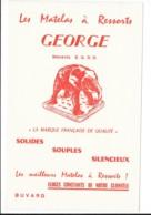 Buvard Pubilictaire - Matelas à Ressorts George - Produits Pharmaceutiques