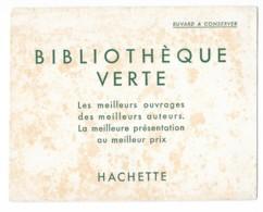 Buvard Publicitaire - Bibliotèque Verte - Buvards, Protège-cahiers Illustrés