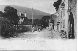 SUISSE   Canton De Vaud   CONCISE  Centre Du Village   LAVOIR    CARTE ANIMEE - VD Vaud