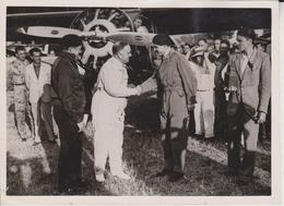 LE LEONARD DAVINCI POME STLANTIQUE   AVION FISHGUARD GAL FOTO DE PRESSE WW2 WWII WORLD WAR 2 WELTKRIEG Aleman Deutchland - Aviación