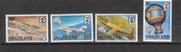 Swaziland  **  432-435   Luftfahrt Katalog 3,25 - Swaziland (1968-...)