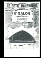 38 - Grenoble : 2ème Salon De La Carte Postale - 17 Et 18 Mars 1979 - Dessin Jean Brian (âne) - Bourses & Salons De Collections