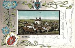 1905 - RADIMER Okres SVITAVY, WAPPEN KARTE, Gute Zustand, 2 Scan - Czech Republic