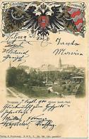 1900 - OPAVA  Troppau, WAPPEN PRAGE, Gute Zustand, 2 Scan - Tsjechië