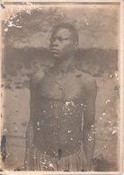 REF Photo 12 : Photo Originale 18  X 13 Cm - Jeune Africain Scarification Sur Le Corps - Africa