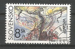 Slowakei / Slovensko 1995  Mi.Nr. 226 , EUROPA CEPT - Frieden Und Freiheit - Gestempelt / Used / (o) - Slowakische Republik