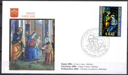 Vaticano 2006 Natale - FDC
