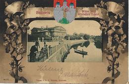 1903 -Ceske Budejovice, WAPPEN PRAGE, Gute Zustand, 2 Scan - Tsjechië