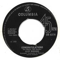 "Cliff Richard  ""  Congratulations  "" - Unclassified"
