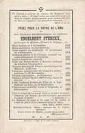 Cardinal Engelbert STERCKX - °Ophem 1792  - Overleden In Mechelen 1867 - Décès