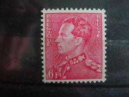 Belgique. 848 **¨Baudouin 6 Francs Rouge - Unused Stamps