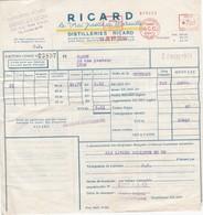 Distillerie Ricard Dépot De Lyon 50 Rue Smitt - Alimentaire