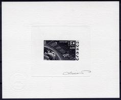 Monaco 1985, Space, EUTELSAT, Die Proof Signed By The Artist - Space